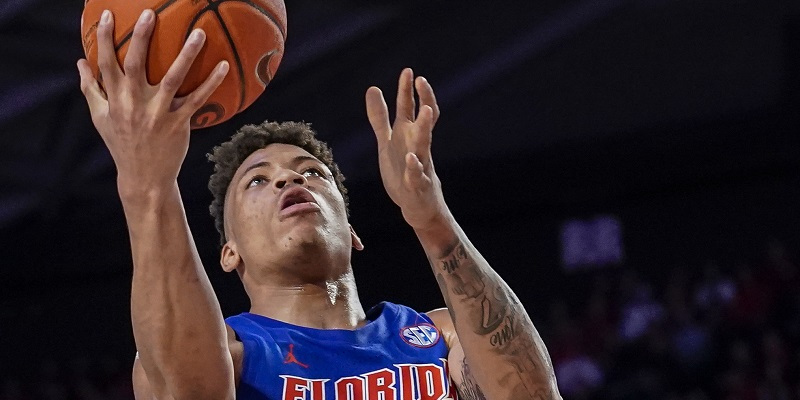 Florida star Keyontae Johnson hospitalized after collapsing on court
