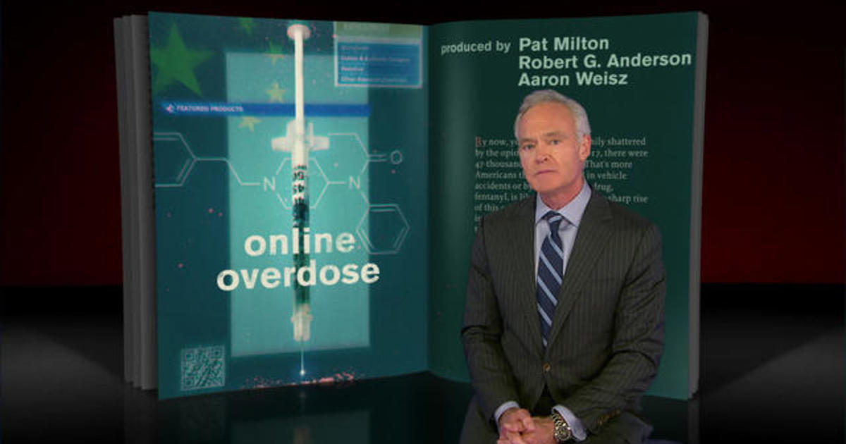 60 Minutes Archives: Buying fentanyl online from China