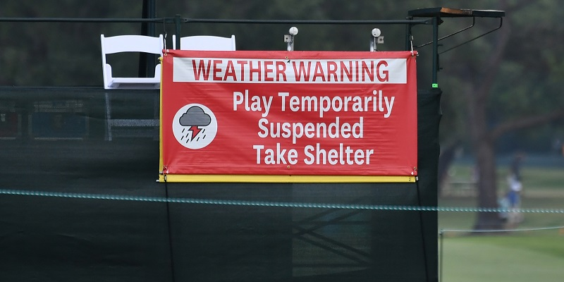 U.S. Women's Open, weather