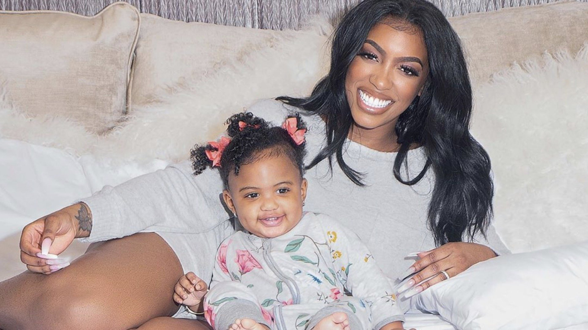 Porsha Williams' Daughter, Pilar Jhena, Looks Like A Princess In This Christmas Photo