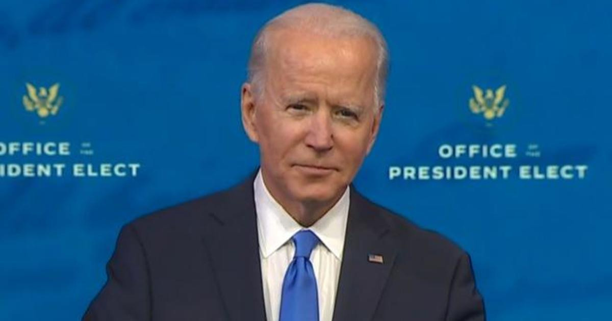Special Report: President-elect Joe Biden addresses the nation after Electoral College affirms his victory