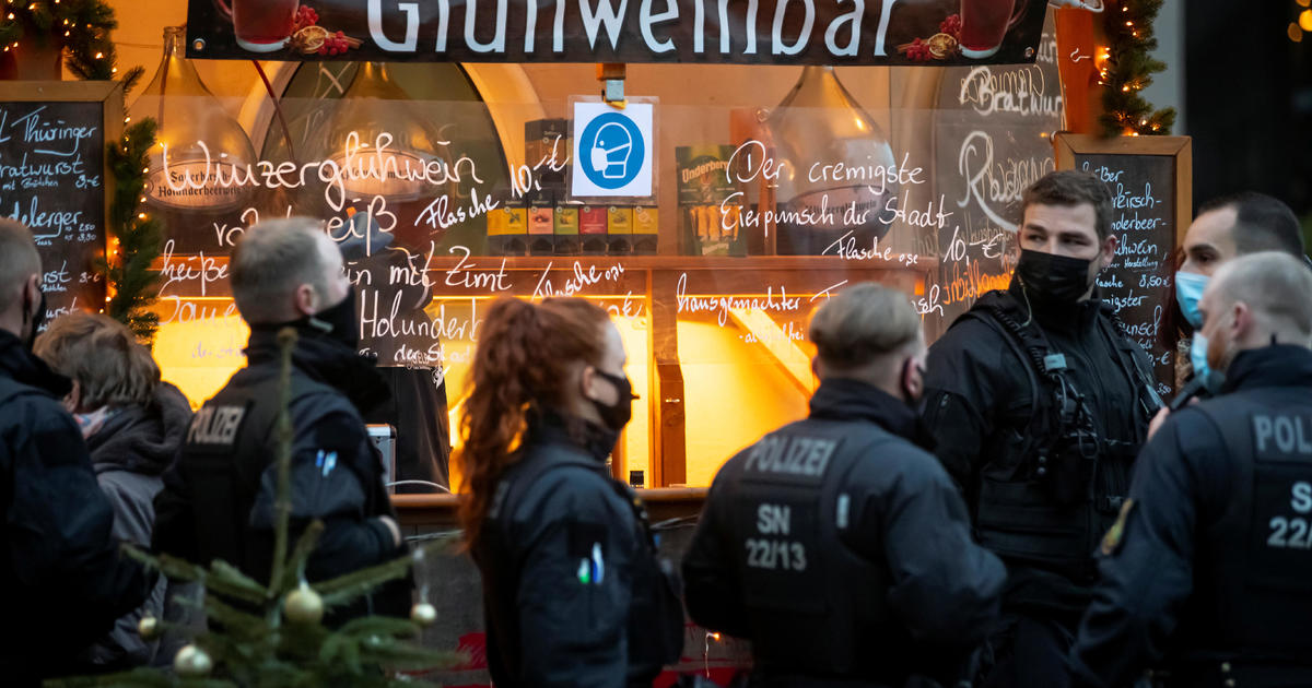 Germany steps up COVID lockdown measures over winter holidays