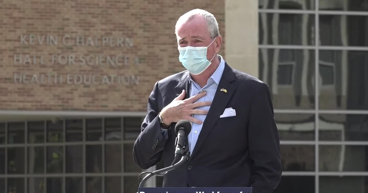 Watch Live: New Jersey governor gives COVID-19 update