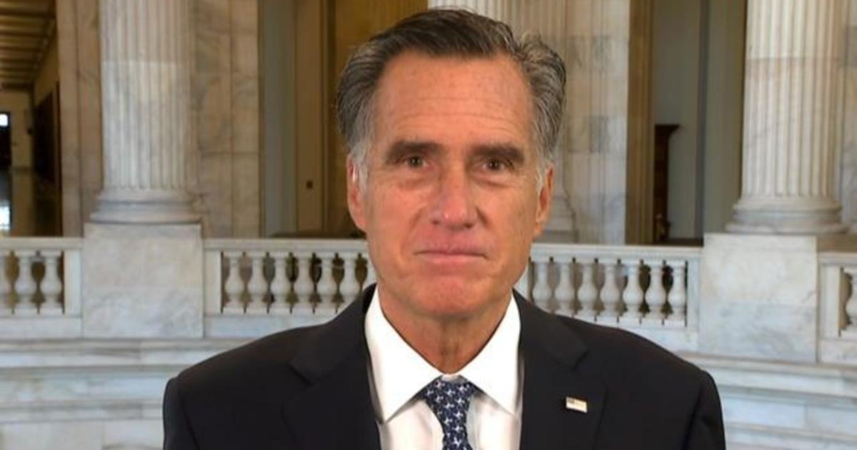 Senator Mitt Romney on Electoral College vote, COVID-19 relief bill negotiations