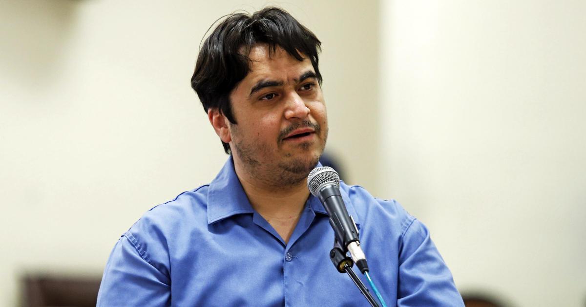 Iran executes journalist Ruhollah Zam over his online work