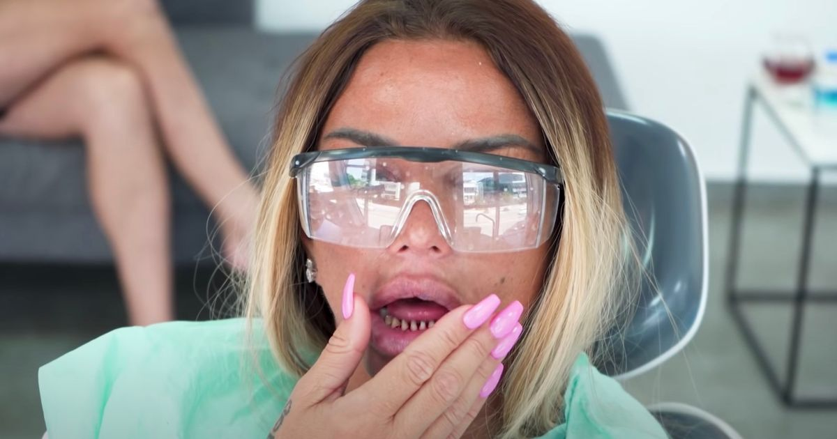 Katie Price jets to Turkey for emergency dental work after new teeth fall out