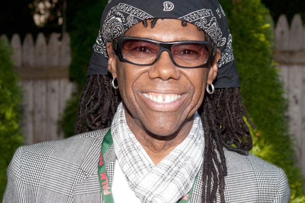 Record producer Nile Rodgers