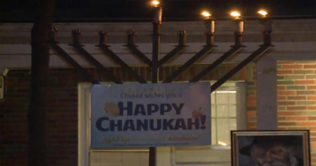 Driver attacked man at Hanukkah ceremony, police say