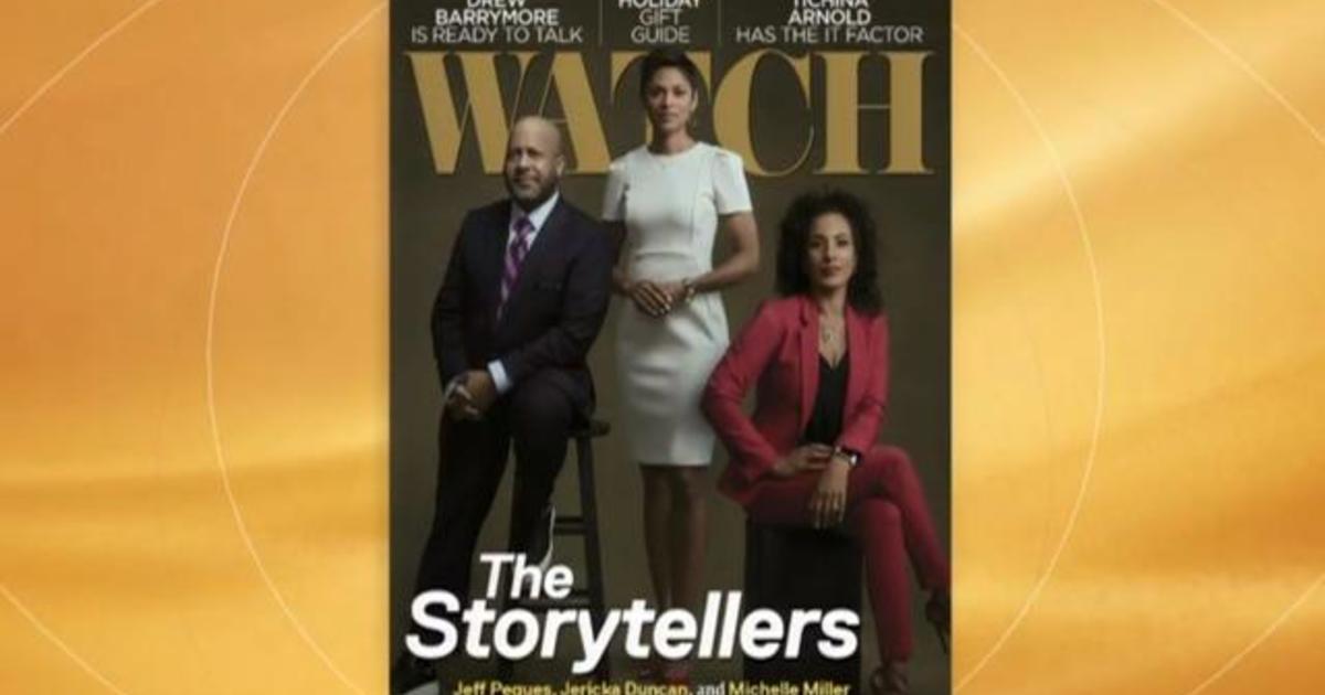 CBS' WATCH Magazine cover features Michelle Miller, Jeff Pegues, Jericka Duncan