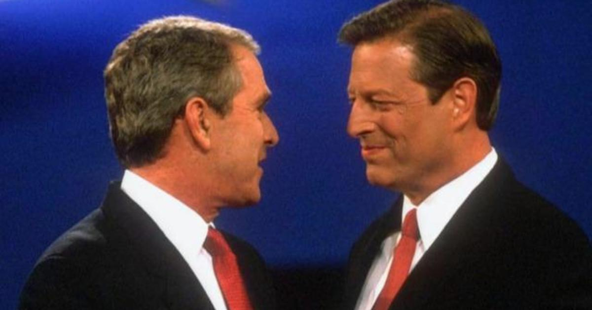 Looking back at George W. Bush, Al Gore's contentious 2000 race