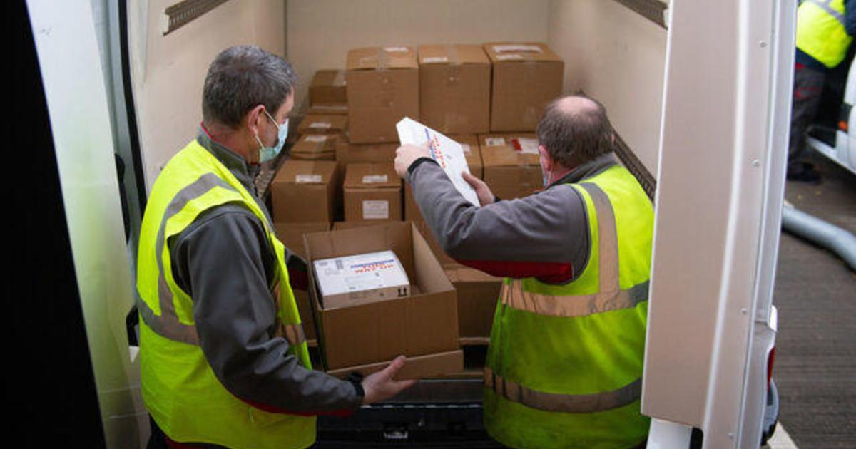 Pfizer vaccine distribution gets underway in the United States