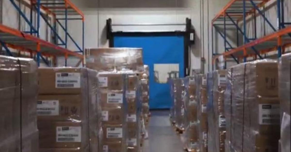 Mass coronavirus vaccine distribution plan underway