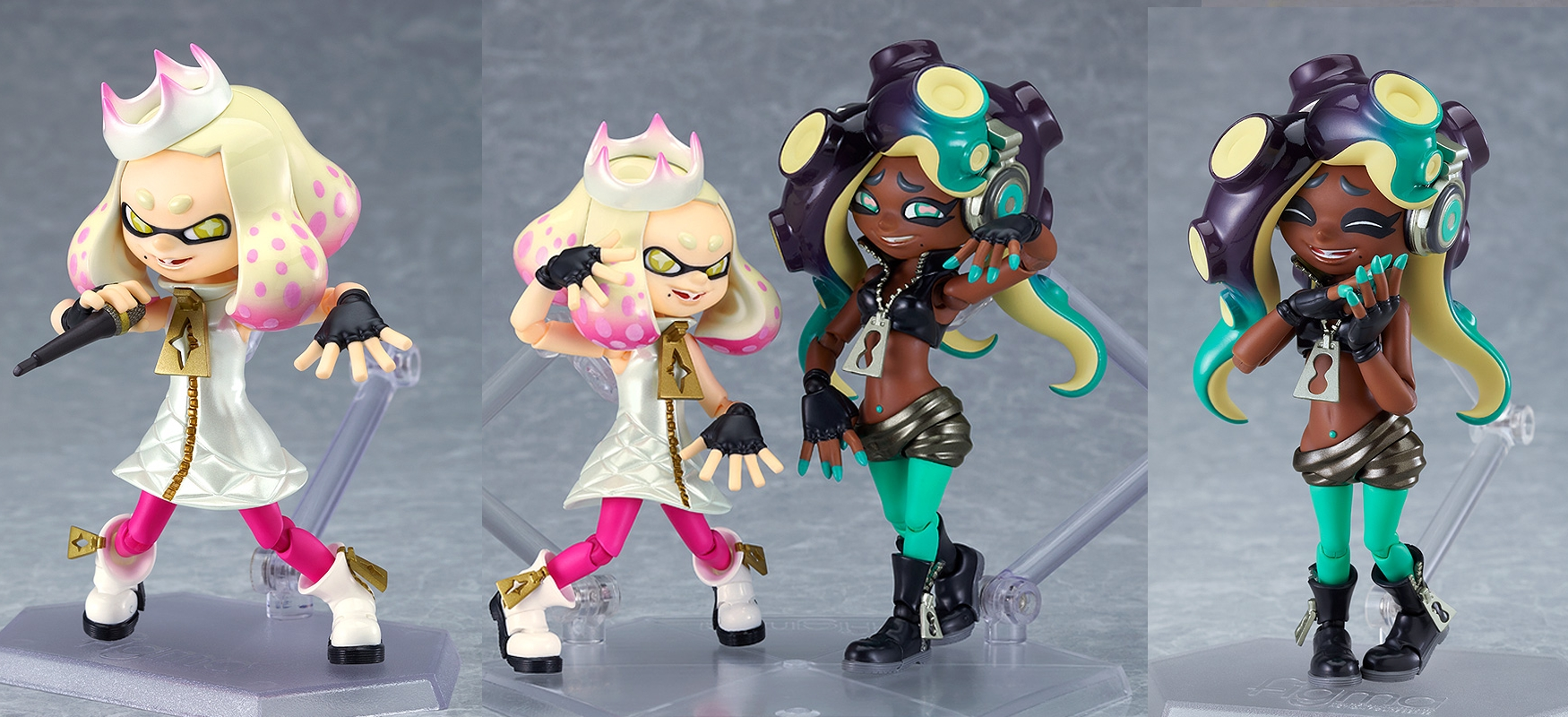 "Splatoon 2 Pearl And Marina ""Off The Hook""Figma Set Announced From Good Smile Company"