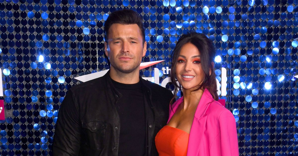 Mark Wright jokes wife Michelle Keegan is 'punching' on their lavish date night