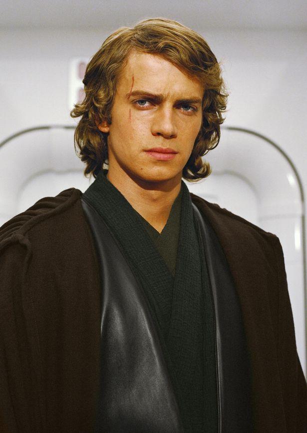 Hayden Christensen as Anakin Skywalker in Star Wars: Episode III Revenge of the Sith