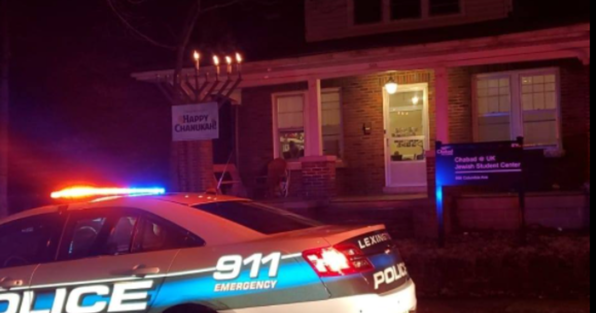 Man hit by car during Hanukkah ceremony says driver used anti-Semitic slurs