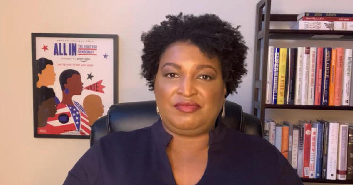 Stacey Abrams on Georgia Senate runoffs, turnout and Trump's vote fraud claims